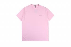 巴黎世家短袖 小标粉 Balenciaga Pink