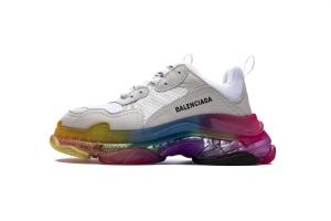 LD复古气垫 七彩 Balenciaga Rainbow