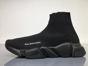 TS袜套 全黑 Balenciaga Speed Runner All Black