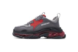 LD复古气垫 深灰酒红 Balenciaga W06E5 8688 Balenciaga Sneaker TessS.Gomma Dark Grey Burgundy