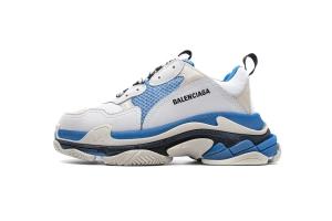 LD复古气垫 白天蓝  Balenciaga W09O5 9039 Balenciaga Sneaker TessS.Gomma White Sky Blue