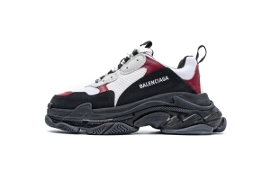 LD复古气垫 白酒红 Balenciaga W09OH 7078 Balenciaga Sneaker TessS.Gomma White Burgundy