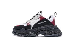 LD复古气垫 白酒红气垫 Balenciaga W09OH 7078 Balenciaga Sneaker TessS.Gomma White Burgundy