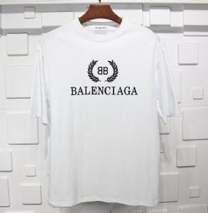 巴黎世家衣 CL 短袖麦穗白 Balenciaga White