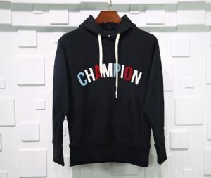 冠军衣 CL 帽衫背后大标黑 Champion Black