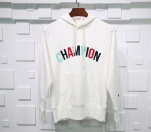 冠军衣 CL 帽衫背后大标白 Champion White