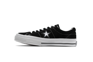 匡威低 黑色五星 Converse Chuck 70 OX Low Black Pentagram