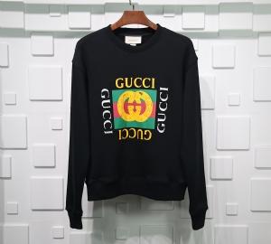 古驰衣 CL 卫衣方块印花 Gucci Black