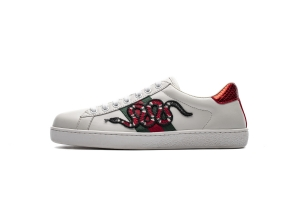 STOS古驰 红蛇 Gucci Small White Shoes Leisure Shoes Business Shoes Boutique Red Snake