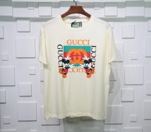 古驰衣 CL 短袖国旗白 Gucci White