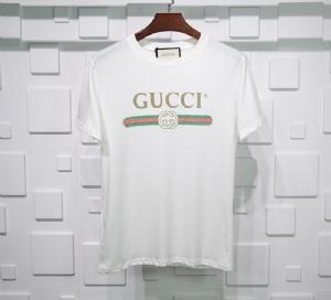 古驰衣 CL 短袖横杆白 Gucci White