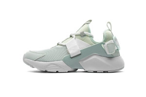 华莱士 薄荷绿981-4 hls Nike Air Huarache City Low Light Moon White