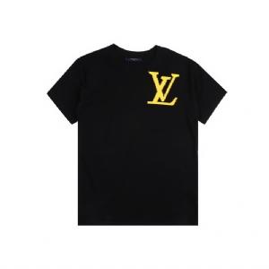 Louis Vuitton(路易威登)短袖 大标印花 Louis Vuitton Black