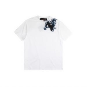 Louis Vuitton(路易威登)短袖 水滴刺绣白 Louis Vuitton White