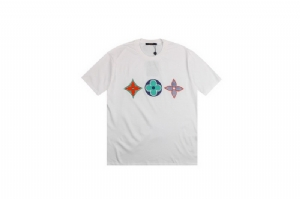 Louis Vuitton(路易威登)短袖 三花白 Louis Vuitton White