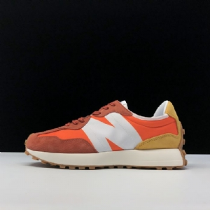新百伦327系列运动休闲跑鞋 橙色 New Balance Orange
