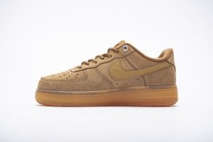 GS空军低帮 2019小麦 Nike Air Force 1 Low Air Force 1 Low '07 WB Flax (2019) Wheat