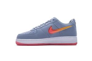 空军低帮 灰红果冻 Nike Air Force 1 Low Grey Red Jelly