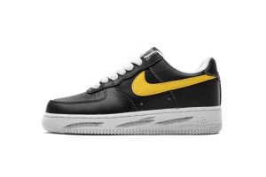 GS空军低帮 权志龙黑黄 Nike Air Force 1 Low PEACEMINUSONE X Nike Air Force 1 Low Black Yellow