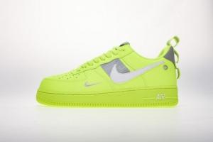 空军低帮 荧光绿 Nike Air Force 1 Low Volt