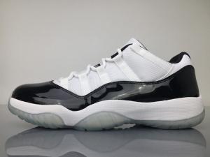 乔丹11代 黑白低帮 Nike Air Jordan 11 Concord