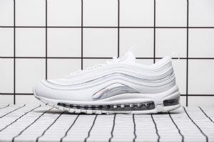 97 白镭射  Nike Air Max 97 Nike Air Max 97 White/Metallic Silver/Iridescent
