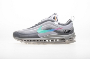 97 灰绿OW Nike Air Max 97 OFF WHITE Grey Menta