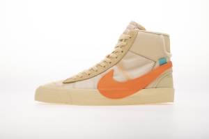 开拓者 米黄OW Nike Blazer Mid OFF-WHITE All Hallows Eve