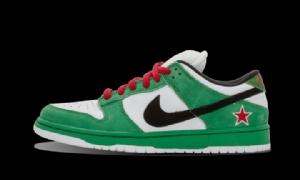 XG Dunk SB 喜力 OFF-WHITE X Nike Dunk SB Low Heineken