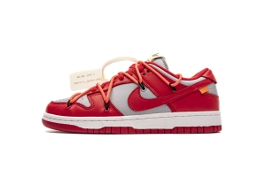 GS Dunk SB 灰红  GS Dunk SB OFF White X Nike Dunk Low University Red