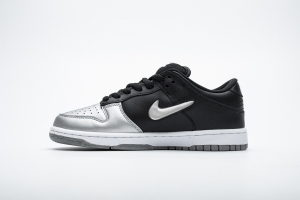 耐克Dunk SB 黑银 OFF-WHITE X Nike Dunk SB Low Silver