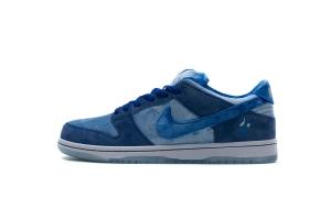 XG Dunk SB 蓝情人节 OFF-WHITE X Nike Dunk SB Low Strange Love x Nike SB Dunk Low Pro Blue