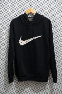 耐克 帽衫 小雏菊黑 Nike Hoodie Black
