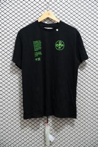 短袖荧光绿字黑