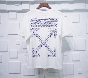 Off-White衣 CL 短袖警戒白 Off-White White