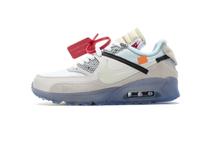STOS 90 全白OW  OFF-WHITE x Nike Air Max 90  OFF White x Nike Air Max 90 Sail White