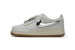 STOS空军 米黄换勾 OFF WHITE X Nike Air Force 1 Low  Sail