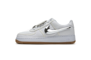 STOS空军 全白换勾 OFF WHITE X Nike Air Force 1 Low  White