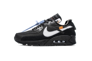 STOS 90 全黑OW OFF-WHITE x Nike Air Max 90  Black
