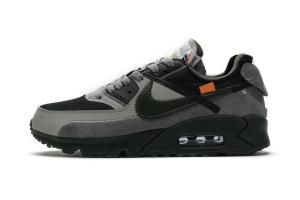 STOS 90 裸鞋 OFF-WHITE x Nike Air Max 90  Grey
