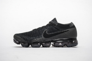 耐克2018气垫 全黑黑勾 Off White x Nike Air VaporMax 2018 Flyknit All Black Black Hook