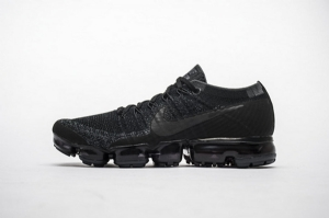 耐克2018气垫 全黑灰勾 Off White x Nike Air VaporMax 2018 Flyknit All Black Grey Hook