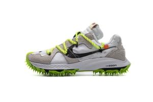 耐克钉鞋 白绿 OFF WHITE X Nike Zoom Terra Kiger 5 White
