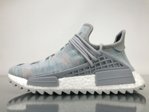 TS菲董 棉花糖 pharrell Williams x Adidas Originals HU NMD Billionaire Boys Club