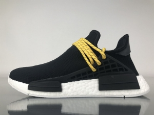 TS菲董 黑色 pharrell Williams x Adidas Originals HU NMD Black