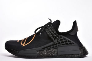 TS菲董 OVO联名 pharrell Williams x Adidas Originals HU NMD Black Gold