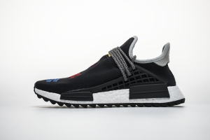 TS菲董 黑色生日 pharrell Williams x Adidas Originals HU NMD Breathe Walk