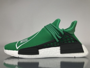 TS菲董 绿色 pharrell Williams x Adidas Originals HU NMD Green