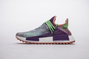 TS菲董 扎染紫 pharrell Williams x Adidas Originals HU NMD Holi