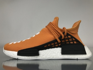 TS菲董 橙色 pharrell Williams x Adidas Originals HU NMD Orange